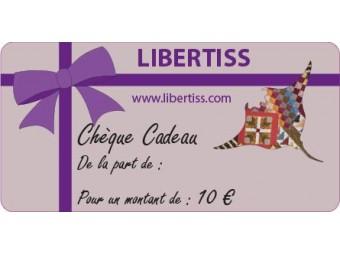Chèque Cadeau de 10€