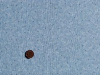 tissu patchwork bleu pois bleus et ronds blancs. Black Bedroom Furniture Sets. Home Design Ideas