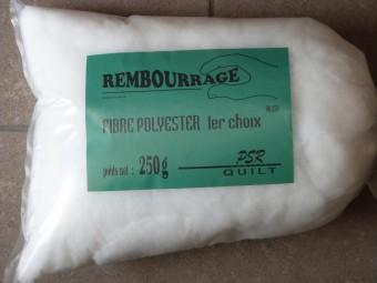 Polyester pour bourrage 250g PSR 90.250