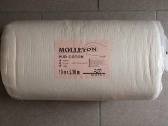 Molleton Pur Coton Largeur 2.5m PSR 80.250.1000  - vendu au mètre