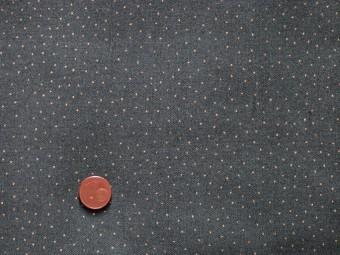 Tissu patchwork vert et or