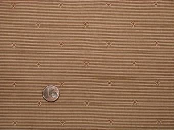 Tissu patchwork beige rayé ocre