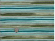 Tissu patchwork bleu, vert, blanc et noir