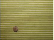 Tissu patchwork vert à rayures beiges