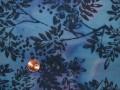 Tissu patchwork Batik bleu