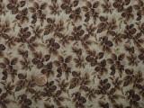 Tissu patchwork beige, jaune et ocre