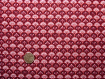 Tissu patchwork rose et blanc