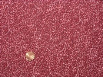Tissu patchwork rouge