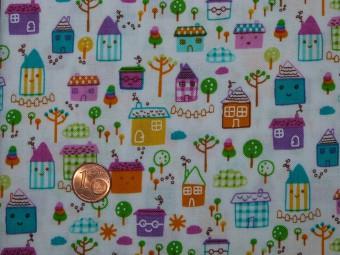 Tissu patchwork multicolor