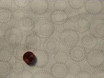 Tissu patchwork blanc