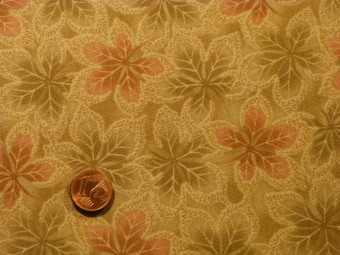Tissu patchwork Japonais vert et rose
