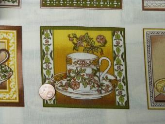 Tissu patchwork Panneau multicolor