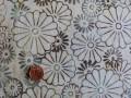 Tissu patchwork Batik beige