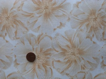 Tissu patchwork Japonais beige