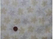 Tissu patchwork Japonais beige et gris