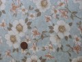 Tissu patchwork Japonais bleu, beige, verte et rose