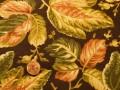 Tissu patchwork marron, vert, beige et rose