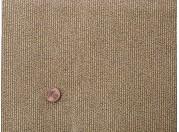 Tissu patchwork marron, beige et noir