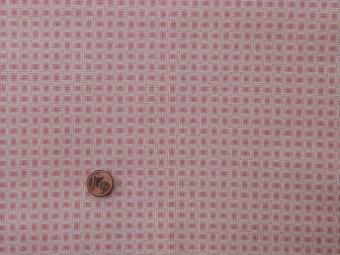 Tissu patchwork rose et beige